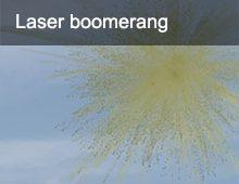 Laser Boomerang